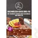 Buchweizen Kekse/Brei-Fix mit Orangen-Schokoladen Geschmack und Marillen 200 g