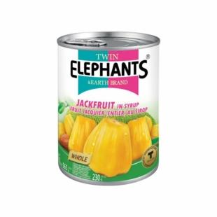 Twin Elephants Grüne Jackfrucht im salzigen Saft 540 g