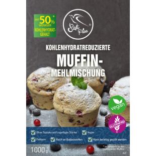 Safi Free Kohlenhydratreduzierte Muffin Mehlmischung (glutenfrei) 1000g