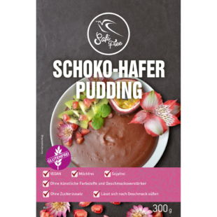 Safi Free Schoko-Hafer Pudding 300 g