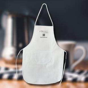 Küchenschürze mit QR-Code