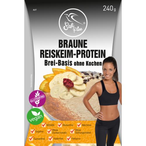 Safi Free Braune Reiskeim-Protein Brei-Basis ohne Kochen 240 g
