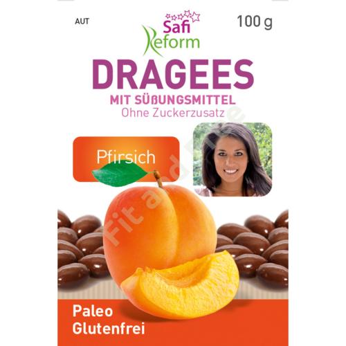 Safi Reform Pfirsich Dragees mit Erythrit 100 g