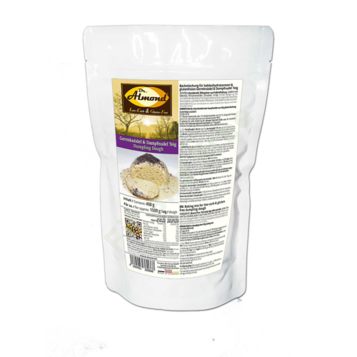 Germknödel & Dampfnudel Teig Backmischung Low Carb 400 g Dr. Almond