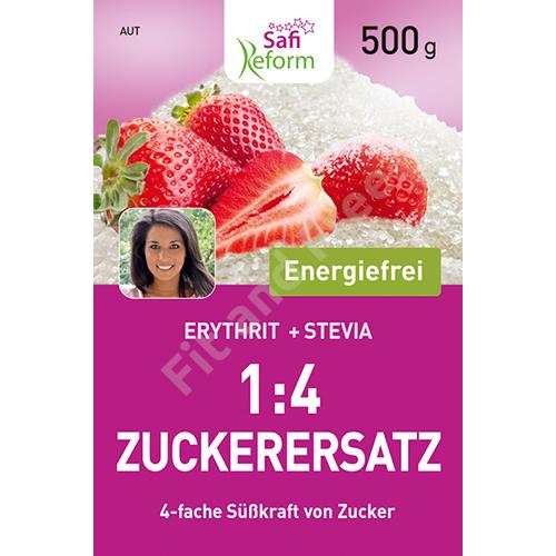 Safi Reform 1:4 Zuckerersatz (4-fache Süßkraft von Zucker) 500 g