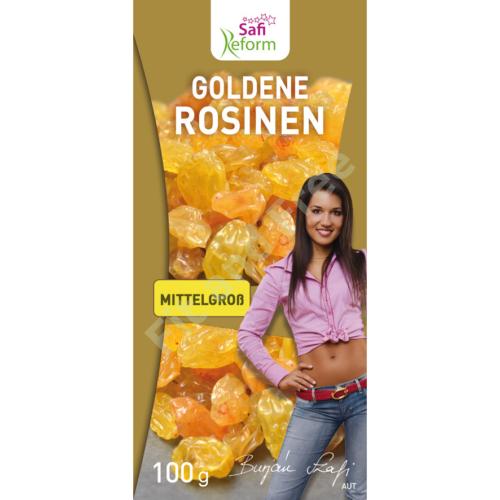 Safi Reform Goldene Rosinen mittelgroß 100 g