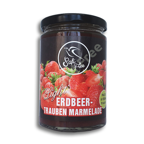 Safi Free Erdbeer-Trauben Marmelade 350 g