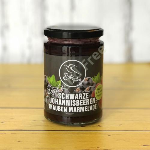 Safi Free Schwarze Johannisbeeren-Trauben Marmelade 350 g