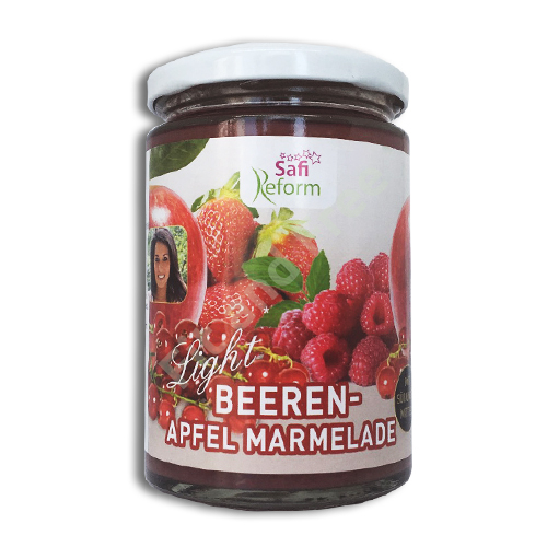 Safi Reform Beeren-Apfel Marmelade 350 g