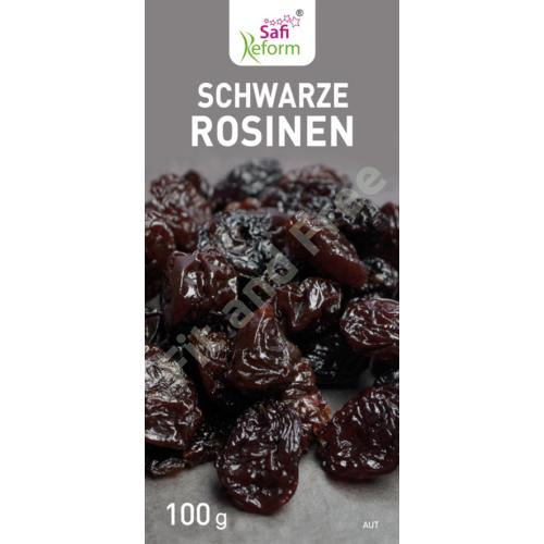 Schwarze Rosinen 100 g