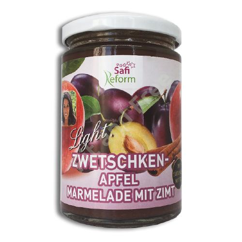 Safi Reform Zwetschken-Apfel Marmelade mit Zimt 350 g