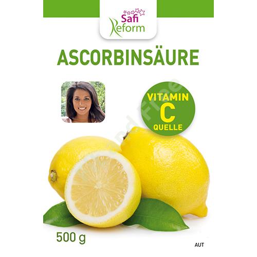Safi Reform Ascorbinsäure (Vitamin C) 500 g