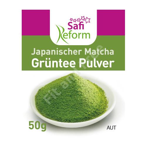 Safi Reform Japanischer Matcha Grüntee Pulver 50 g