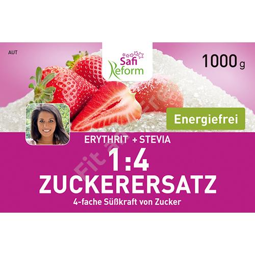 Safi Reform 1:4 Zuckerersatz (4-fache Süßkraft von Zucker) 1000 g