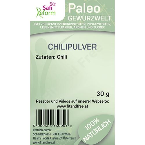Safi Reform Paleo Chilipulver 30 g