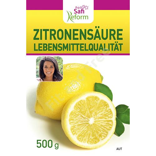 Safi Reform Zitronensäure Lebensmittelqualität 500 g