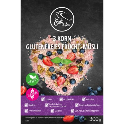 Safi Free 3 Korn Frucht-Müsli 300 g