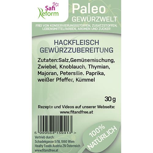 Safi Reform Paleo Hackfleisch Gewürzzubereitung 30 g