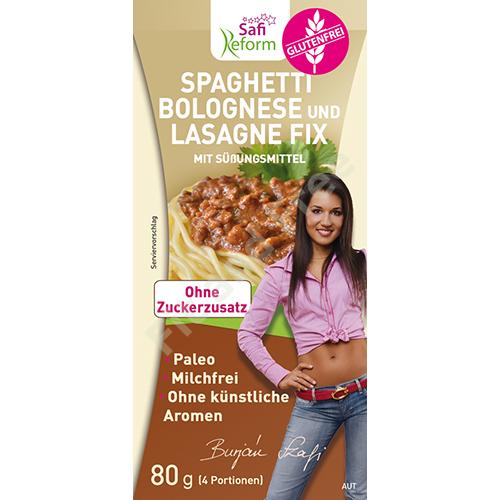 Safi Reform Spaghetti Bolognese und Lasagne Fix 80 g