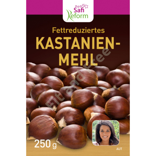 Safi Reform Fettarmes Kastanienmehl 250 g