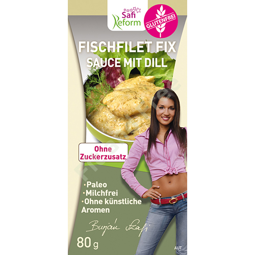 Safi Reform Fischfilet Fix Sauce mit Dill 80 g