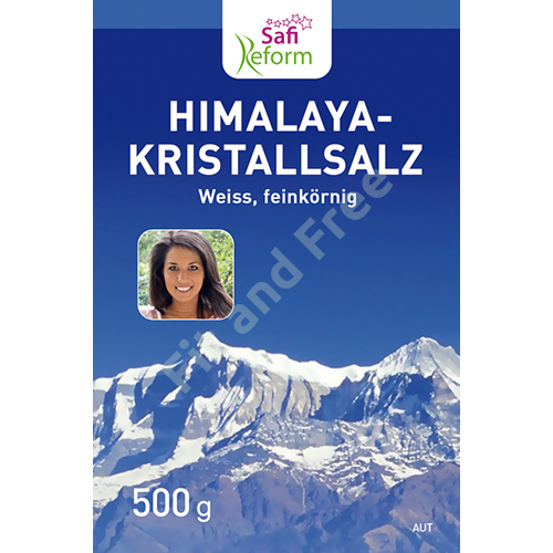 Safi Reform Himalaya Salz feinkörnig (weiß) 500 g