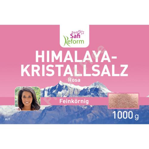 Safi Reform Himalaya-Kristallsalz feinkörnig (rosa) 1000 g