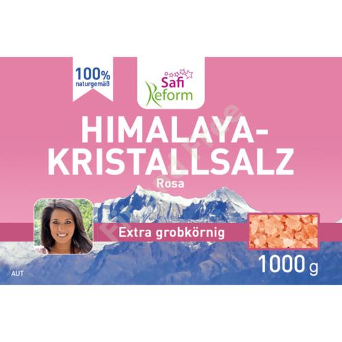 Safi Reform Himalaya-Kristallsalz extra grobkörnig (rosa) 1000 g