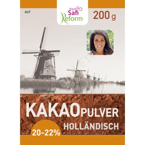 Safi Reform Kakaopulver (holländisch,fettarm) 200 g