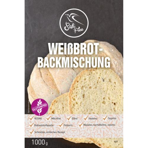 Safi Free Weißbrot-Backmischung vegan 1000 g
