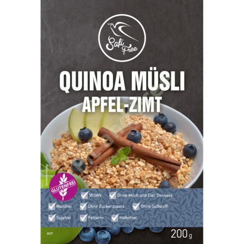 Safi Free Quinoa Müsli Apfel-Zimt 200 g