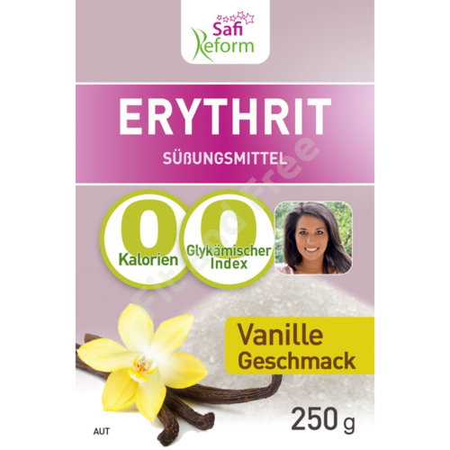 Safi Reform Erythrit mit Vanillegeschmack 250 g