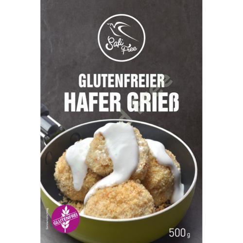 Safi Free Glutenfreier Hafer Grieß 500 g