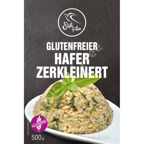 Safi Free Glutenfreier Hafer zerkleinert 500 g