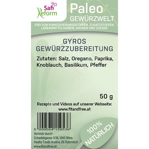 Safi Reform Paleo Gyros Gewürzzubereitung 50 g