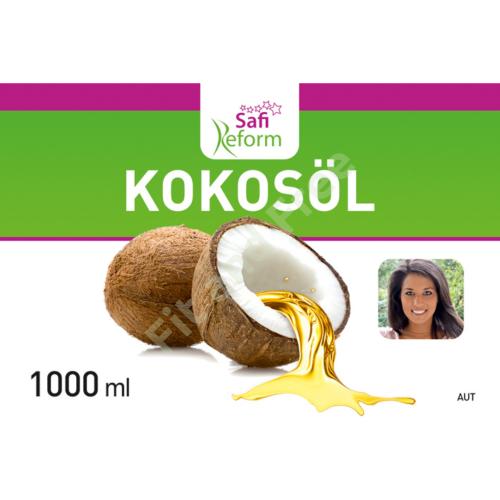 Safi Reform Kokosöl im Eimer (100% gefiltertes, nicht hydriertes Kokosöl) 1L