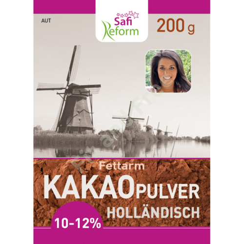 Safi Reform Kakaopulver (holländisch, fettarm) 10-12% 200 g