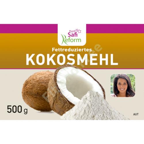 Safi Reform Fettreduziertes Kokosmehl 500 g