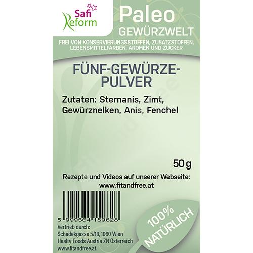 Safi Reform Paleo Fünf-Gewürze-Pulver 50 g