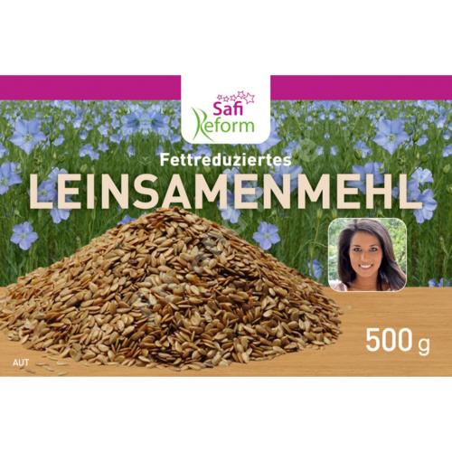 Safi Reform Fettreduziertes Leinsamenmehl 500 g