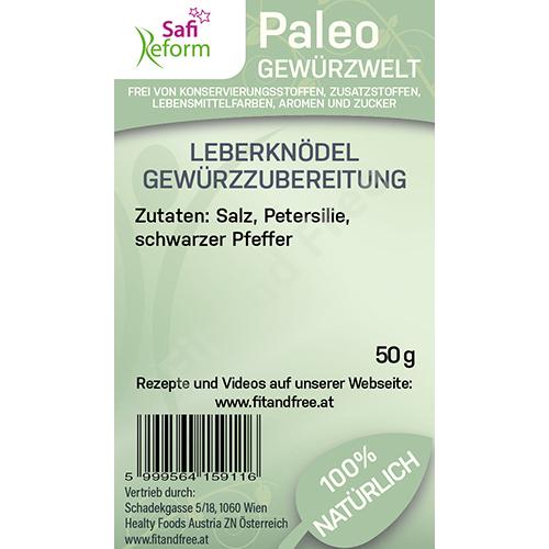 Safi Reform Paleo Leberknödel Gewürzzubereitung 50 g