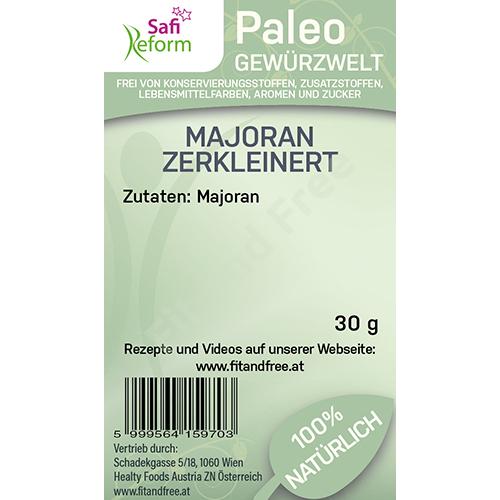 Safi Reform Paleo Majoran zerkleinert 30 g