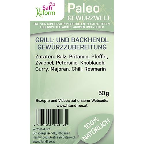 Safi Reform Paleo Grill- und Backhendl Gewürzzubereitung 50 g