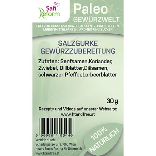 Safi Reform Paleo Salzgurke Gewürzzubereitung 30 g
