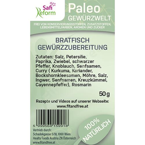 Safi Reform Paleo Bratfisch Gewürzzubereitung 50 g