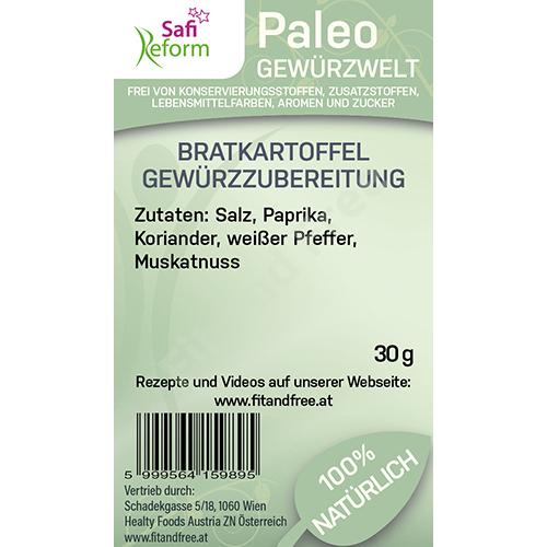 Safi Reform Paleo Bratkartoffel Gewürzzubereitung 30 g