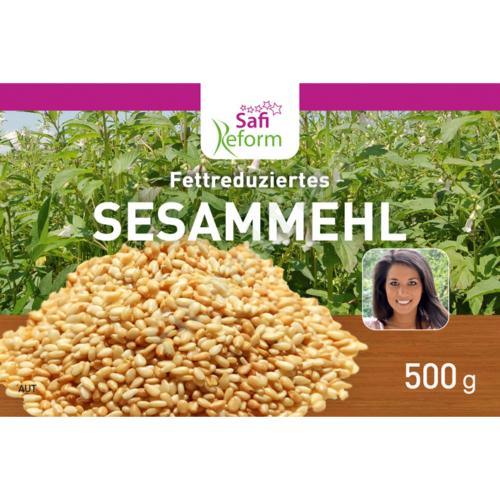 Safi Reform Fettreduziertes Sesammehl 500 g