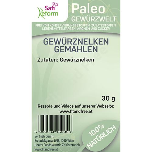 Safi Reform Paleo Gewürznelken gemahlen 30 g