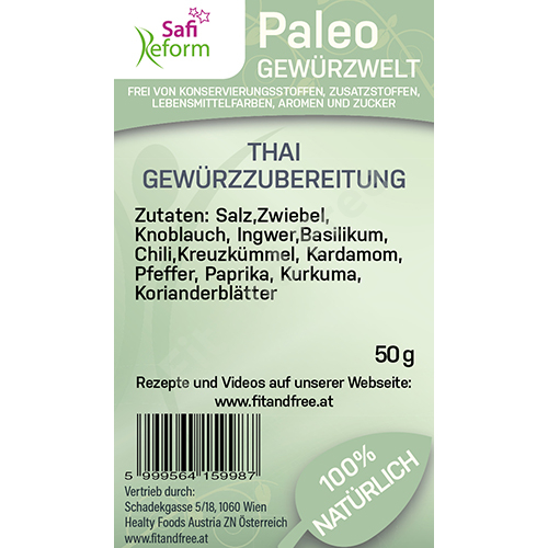 Safi Reform Paleo Thai Gewürzzubereitung 50 g