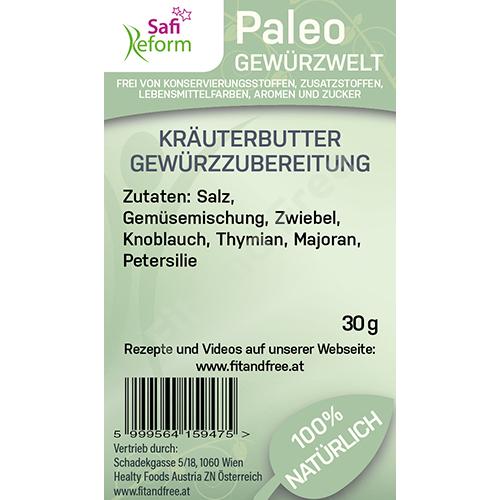 Safi Reform Paleo Kräuterbutter Gewürzzubereitung 30 g